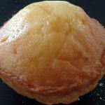 ビストロ パッサテンポのマドレーヌ。ずっしりとした手ごたえのある重さにそぐわない濃厚な味にレモンの風味が美味しかったです。
