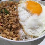 ディップパレス・ヘリテイジ、タイ料理とインド料理の両方という自由なお店ですが、タイのほうはイマイチでした。