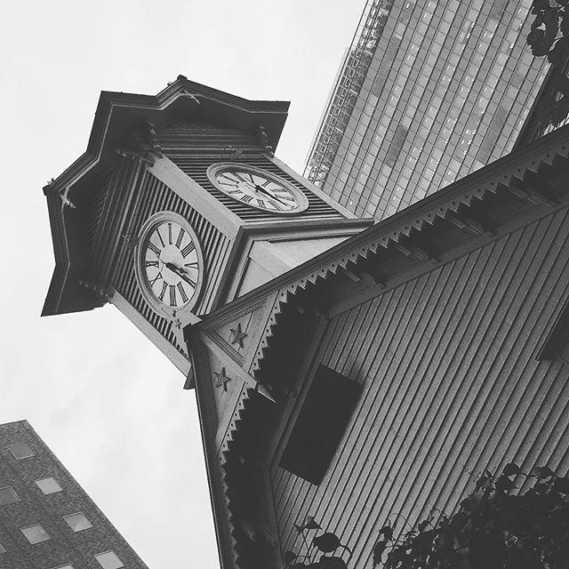 札幌の時計台。残念な観光名所でした。 - Instagramより